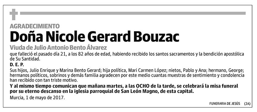 Nicole Gerard Bouzac