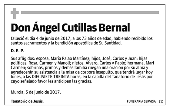 Ángel Cutillas Bernal