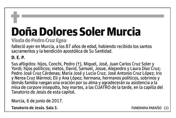 Dolores Soler Murcia