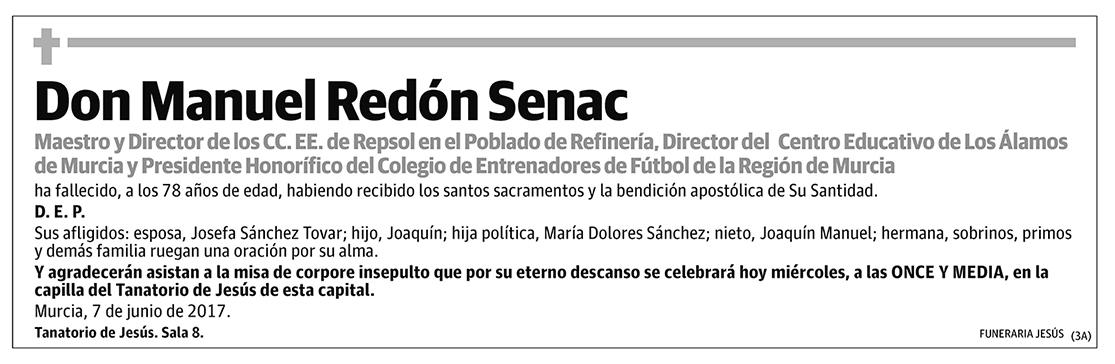 Manuel Redón Senac