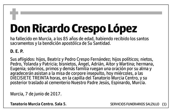 Ricardo Crespo López