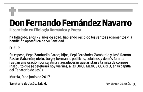Fernando Fernández Navarro