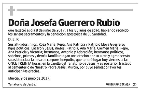 Josefa Guerrero Rubio
