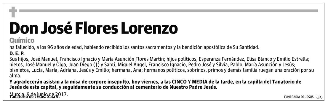 José Flores Lorenzo