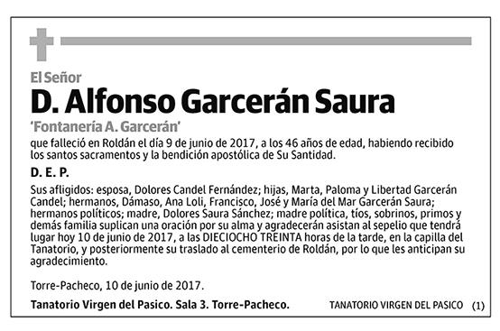 Alfonso Garcerán Saura
