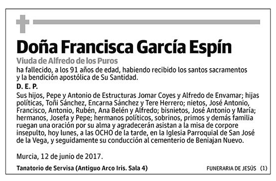 Francisca García Espín