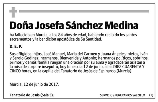 Josefa Sánchez Medina