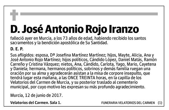 José Antonio Rojo Iranzo
