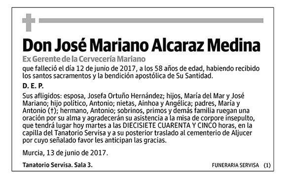 José Mariano Alcaraz Medina