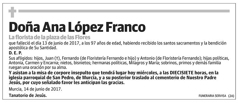 Ana López Franco