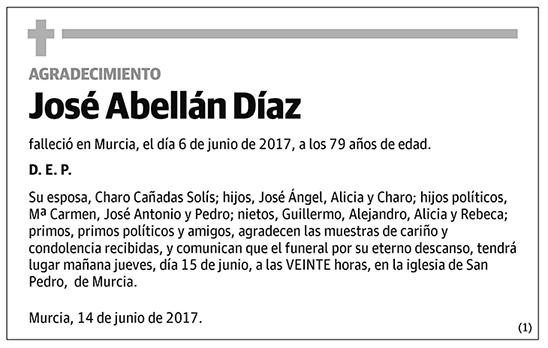 José Abellán Díaz