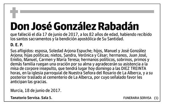 José González Rabadán