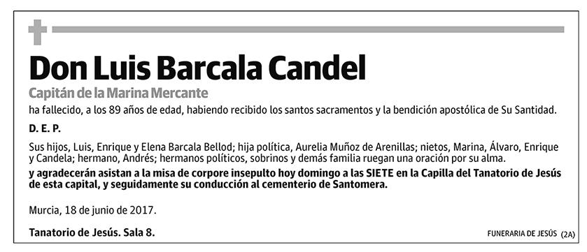 Luis Barcala Candel