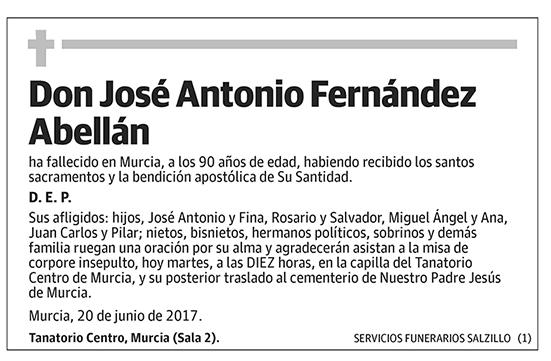 José Antonio Fernández Abellán