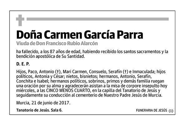 Carmen García Parra