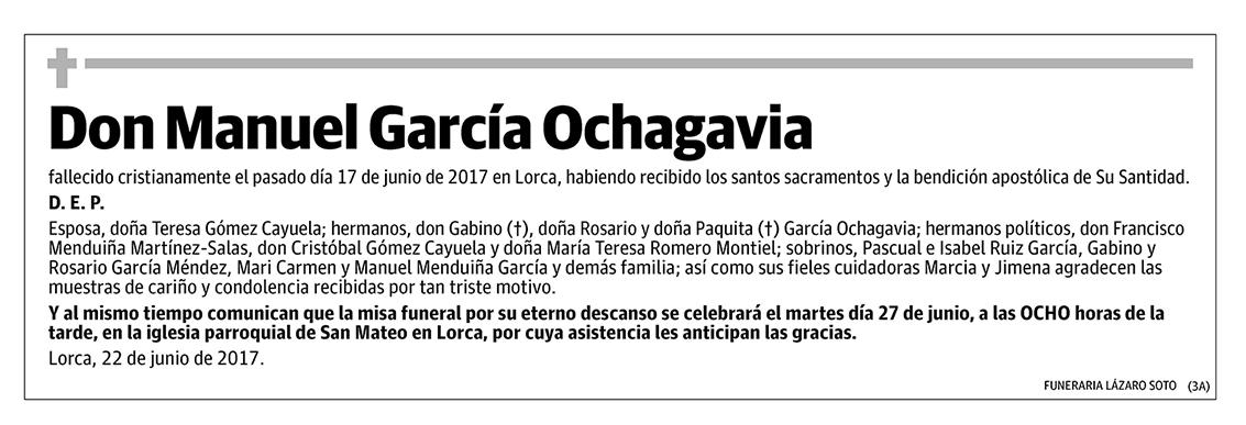 Manuel García Ochagavia