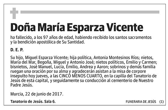 María Esperanza Vicente