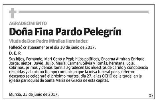 Fina Pardo Pelegrín