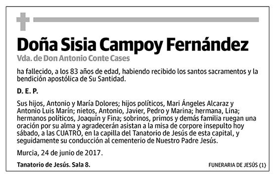 Sisia Campoy Fernández