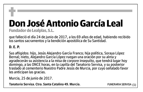 José Antonio García Leal