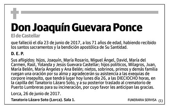 Joaquín Guevara Ponce