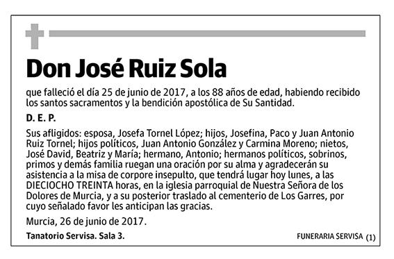 José Ruiz Sola
