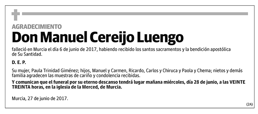 Manuel Cereijo Luengo