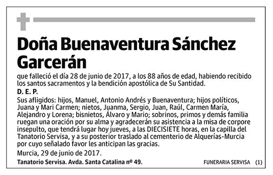 Buenaventura Sánchez Garcerán