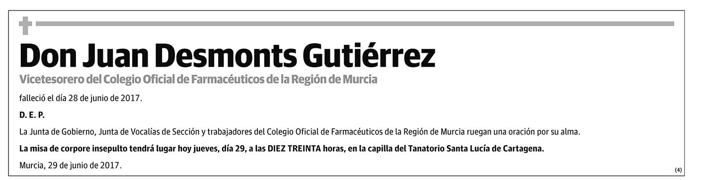 Juan Desmonts Guitiérrez