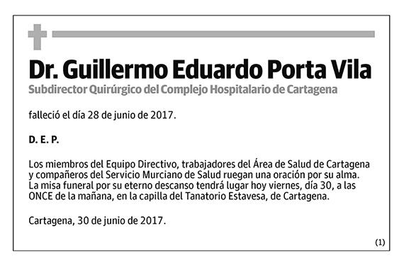 Guillermo Eduardo Porta Vila