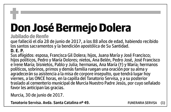 José Bermejo Dolera