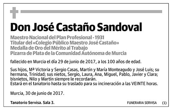 José Castaño Sandoval
