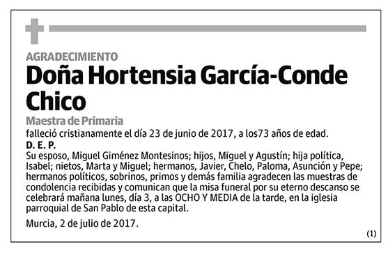 Hortensia García-Conde Chico