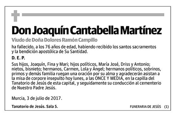 Joaquín Cantabella Martínez
