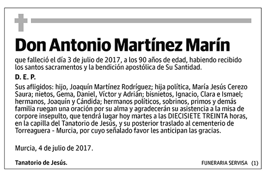 Antonio Martínez Marín