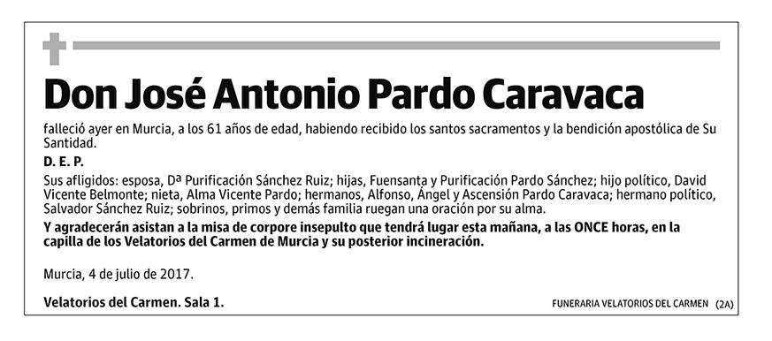 José Antonio Pardo Caravaca