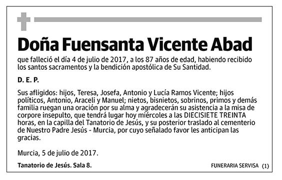 Fuensanta Vicente Abad