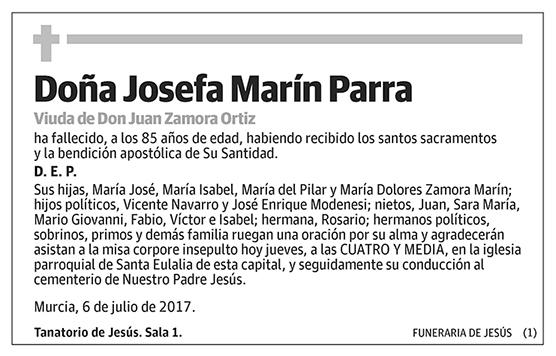 Josefa Marín Parra
