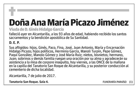 Ana María Picazo Jiménez