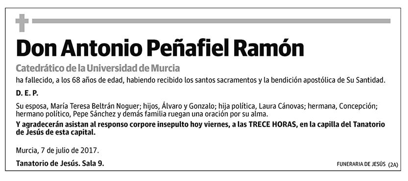 Antonio Peñafiel Ramón