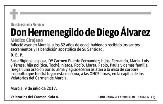 Hermenegildo de Diego Álvarez