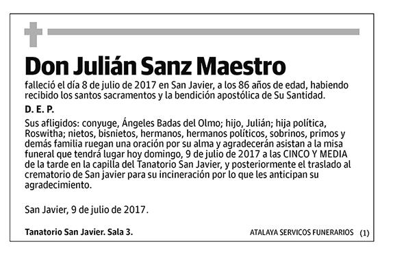 Julián Sanz Maestro