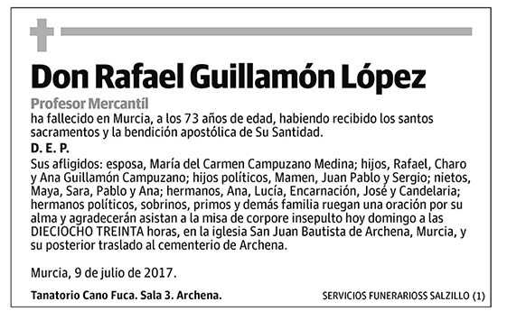 Rafael Guillamón López