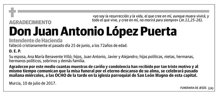Juan Antonio López Puerta