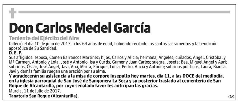 Carlos Medel García