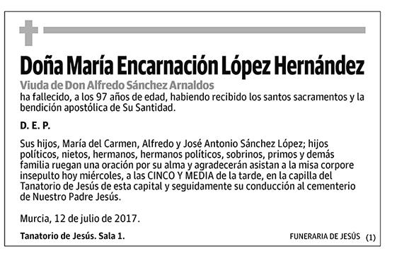 María Encarnación López Hernández