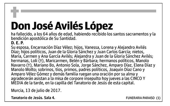 José Avilés López