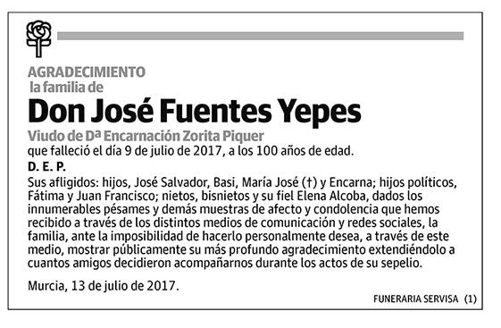 José Fuentes Yepes