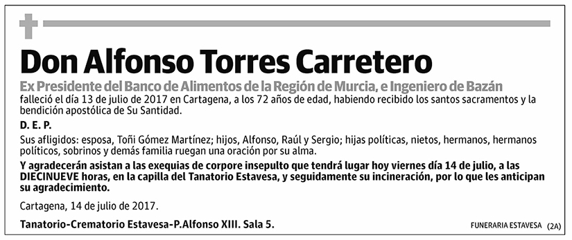 Alfonso Torres Carretero