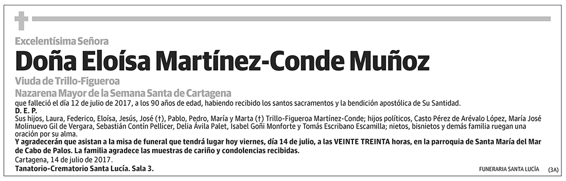 Eloísa Martínez-Conde Muñoz